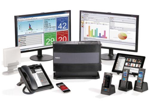 NEC, Centralitas, Servitec Telecomunicación